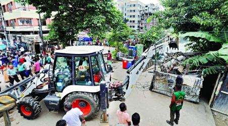 DNCC moves to restore Rupnagar canal