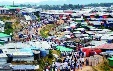 Rising insecurity in Rohingya camps